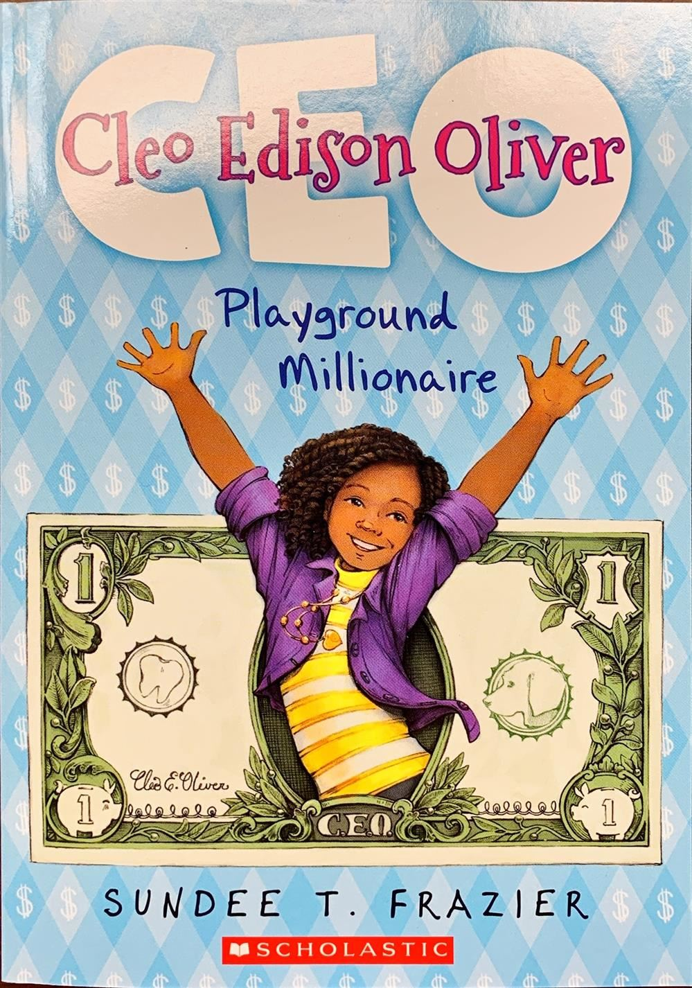 Cleo Edison Oliver Playground Millionaire Book Cover