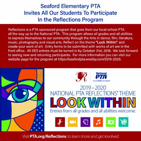 Seaford Elementary PTA Reflections