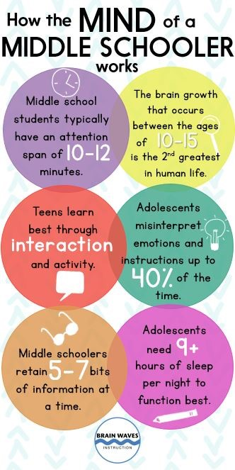 Understanding Middle School Students-Changes in the BRAIN